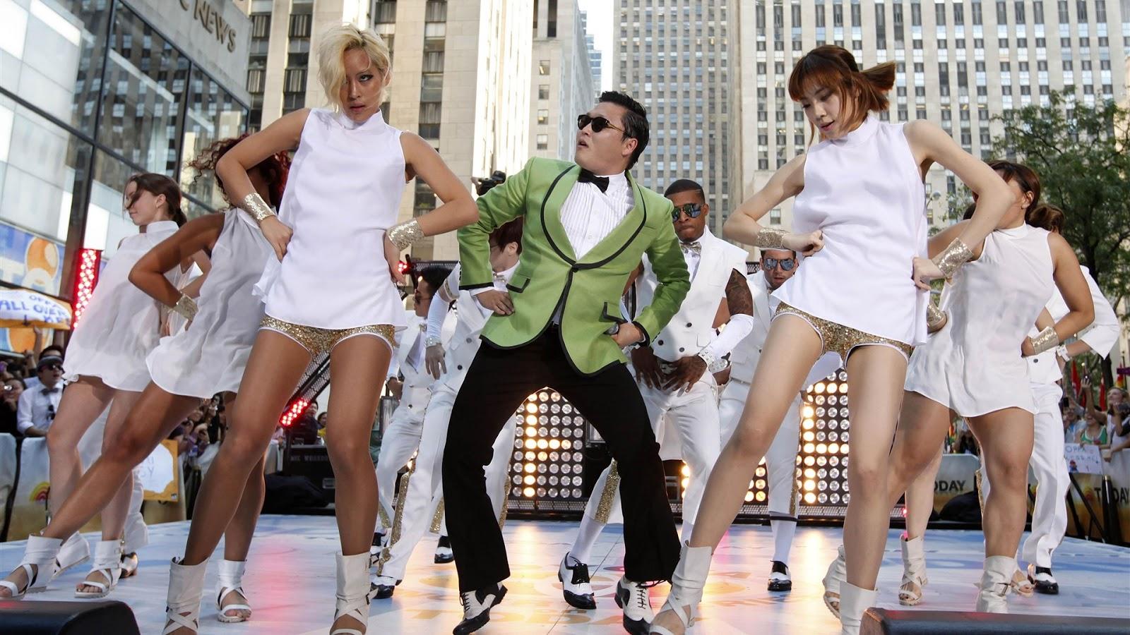 Gangnam Style music