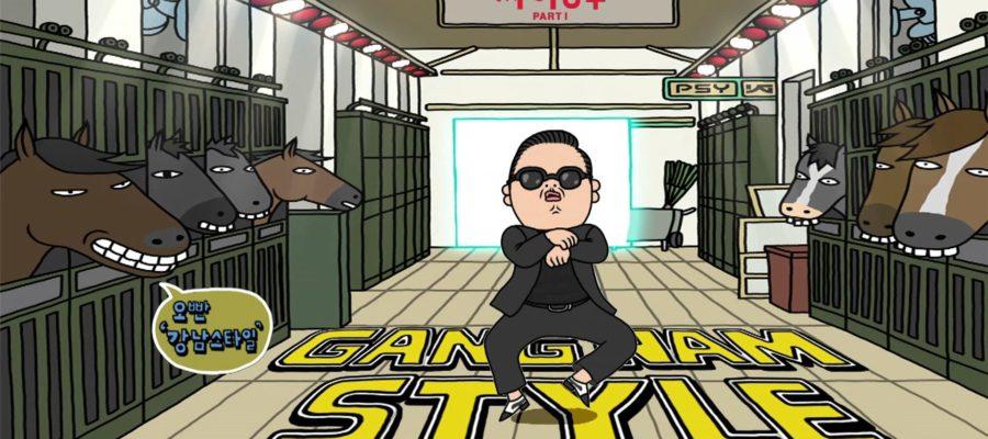 Gangnam Style site